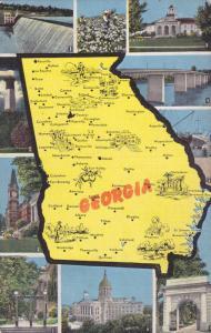 State of Georgia and mulitple state monuments, Georgia, 1930-40s