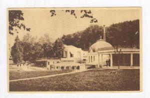 Park / Park et l'Etablissement Thermal,Saint Honore Les Bains,France 1930 PU