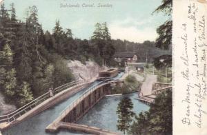 Dalslands Canal , Sweden , PU-1906