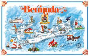 Bermuda, Somers Isles Bermuda Map  Bermuda Map