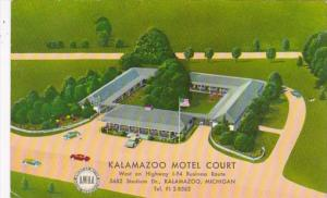 Michigan Kalamazoo The Kalamazoo Motel Court