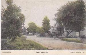 Pennsylvania East Canton Main Street Scene 1908