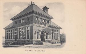 HAVERHILL , Massachusetts , 1901-07; Post Office