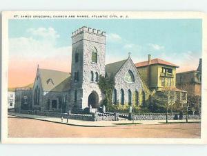 W-border CHURCH SCENE Atlantic City New Jersey NJ AD1868