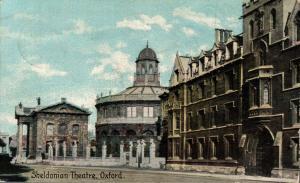 UK Sheldonian Theatre Oxford 02.39