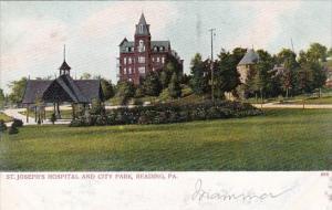 Pennsylvania Reading St Joseph's Hospital and City Park