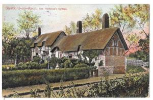 UK Stratford on Avon Ann Hathaway Cottage Nice 1908 CDS