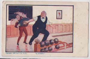 Bowling - A Strike