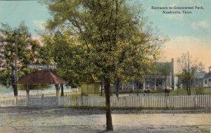 NASHVILLE , Tennessee, 1900-10s ; Entrance to Greenwood Park