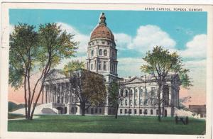 TOPEKA, Illinois; State Capitol, PU-1933