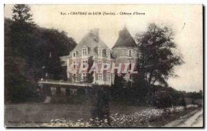 Old Postcard Chateau du Loir Chateau d Ourne