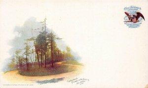 LP25    Hot Springs Arkansas Roadway   PMC Postcard