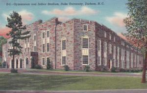 North Carolina Durham Gymnasium and Indoor Stadium Duke University Curteich