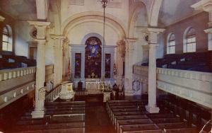 PA - Philadelphia. Christ Church, Interior