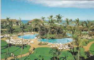 Hawaii Kauai Outrigger Kauai Beach Hotel Lagoon Garden Setting sk7477