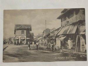 Postcard C1910s Reclamation Road Corner Colombo Ceylon Sri Lanka Tuck's 1034