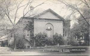 The Chapel, Hotchkiss School, Lakeville, Connecticut, Early Postcard, Unused