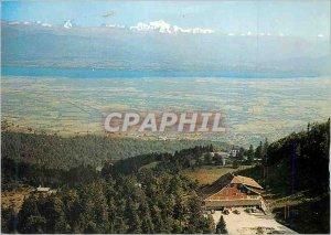 Postcard Modern Col de la Sickle (Ain) alt 1300 m Hotel de la Mainaz