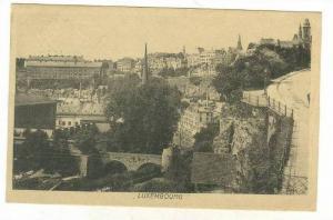 Bird's Eye View, Luxembourg, 1900-1910s