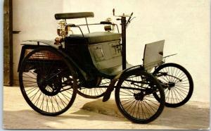 Milwaukee WI Automobile Car Advertising Postcard HEISER FORD 1893 Benz Velo