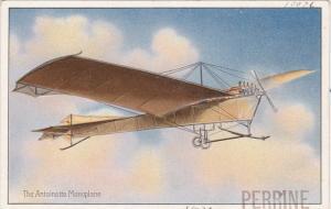 Pioneer aviation airplane , 00-10s ; The Antoinette Monoplane , TUCK #406 series