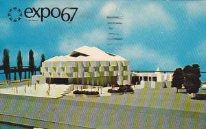 Canada Montreal Expo 67 Israel Pavilion