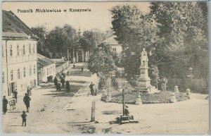 48265 - VINTAGE POSTCARD Ansichtskarten - Polen POLAND -  Pomnik