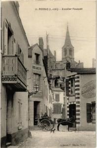 CPA PORNIC Escalier Fouquet (610874)