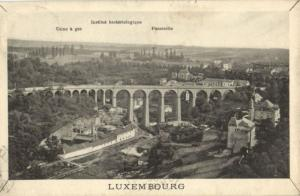 CPA Luxembourg Panorama (30670)