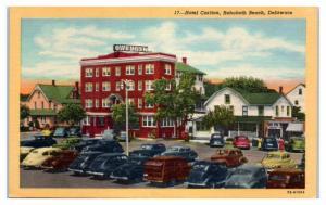 Mid-1900s Hotel Carlton, Rehoboth Beach, DE Postcard