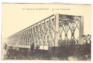 Le Pont d'Aouache, Souvenir De Djibouti, Africa, 1900-1910s