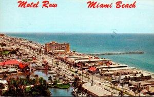 Florida Miami Beach Collins Avenue Motel Strip 1978