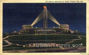 Night- Liberty Memorial in Kansas City, Missouri