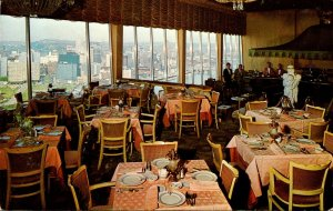 Pennsylvania Pittsburgh Le Mont Top Of The Town Restaurant