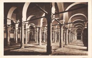 B107610 Tunisia Kairouan Interieur de la Grande Mosquee real photo uk