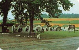 Postcard Birx Motor Court Holcomb New York