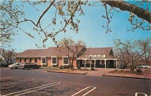 Colts Neck New Jersey~Delicious Orchards~Fruit Retail Store~1960s Cars~Postcard