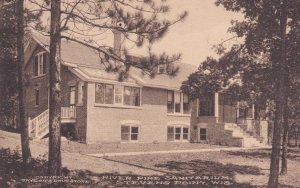 STEVENS POINT , Wisconsin, PU-1912 ; River Pine Sanitarium