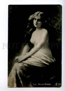 244714 NUDE Belle Woman LONG HAIR by Angelo ASTI old PHOTO Rus