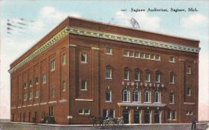 SAGINAW, Michigan, PU-1911; Saginaw Auditorium