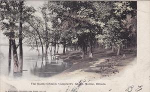 The Battle Ground, Campbell's Island, Moline, Illinois, PU-1908