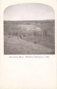 Whittier's Brthplace, Haverhill, Massachusetts, 10-20s