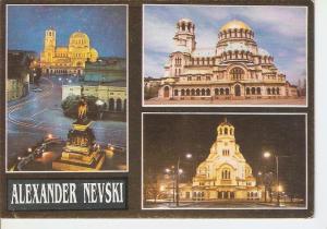 Postal 036884 : Alexander Nevski. Bulgaria Sofia