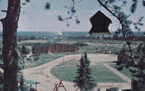ROBERVAL, Quebec, Canada, 1950-1960's; Vue Du Parc Municipal