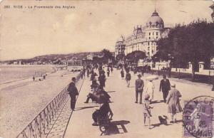France Nice La Promenade des Anglais 1928