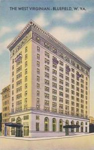 West Virginia Bluefield West Virginian Hotel