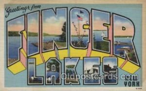 Finger lakes, New York, USA Large Letter Towns Postcard Postcards  Finger Lak...