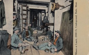 Miners at Lunch , BUTTE , Montana , 00-10s