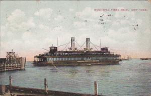 Municipal Ferry Boat, New York, PU-1910