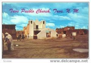 Taos Pueblo Church,NM 40-60s